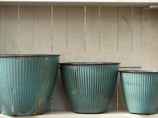 Steel Pot Vintage 32 cm