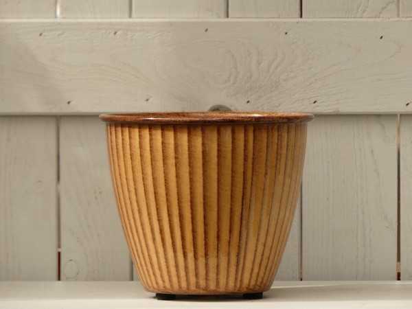 Steel Pot Vintage, ocker, XS