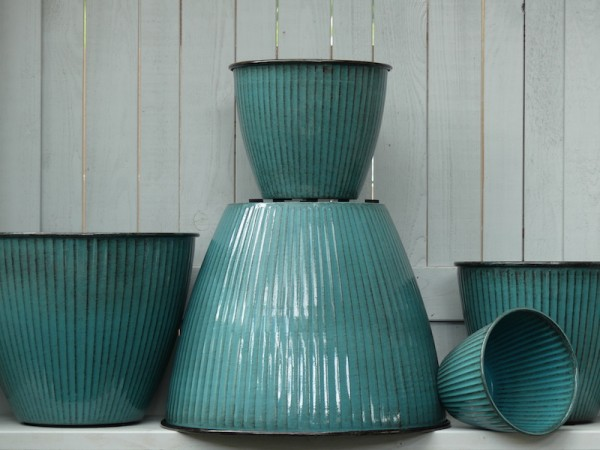 Steel Pot Vintage türkis