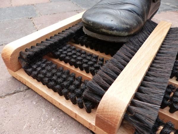 Fußabtreter mit Seitenleisten