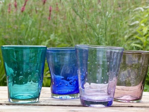Italienische Gläser 'Wasserspiel'