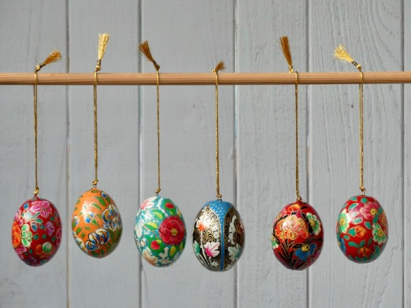 Kashmir-Eier, mittelgroß