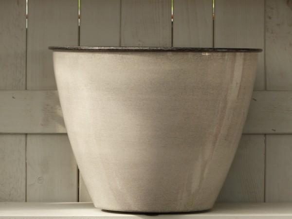 Steel Pot Tati 33 cm weißgrau