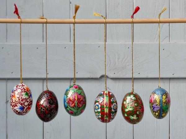 Kashmir-Eier groß