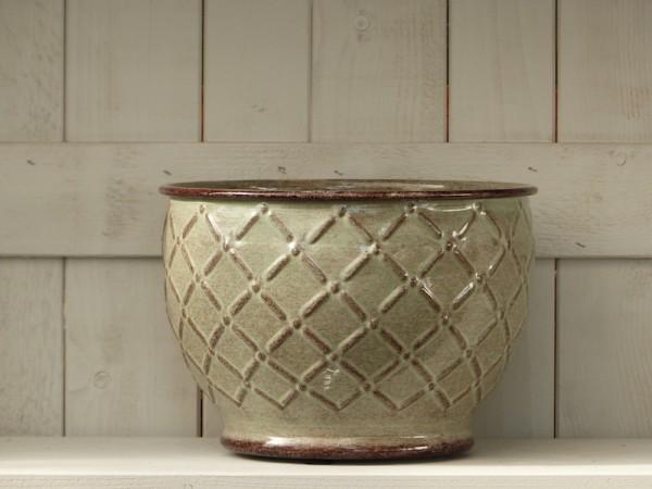 Steel Pot Sparrow 26 cm grün