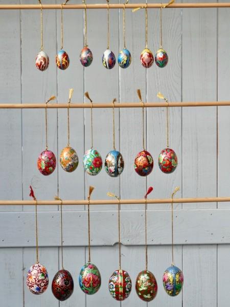 Kashmir-Eier, Größenübersicht
