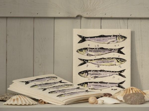 Spültuch mit Fischen