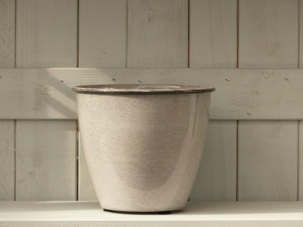 Steel Pot Tati 26 cm Weiß-Grau
