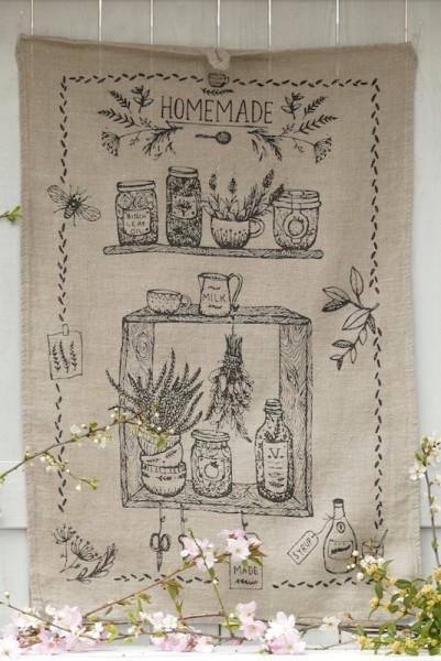 Handtuch Homemade natur
