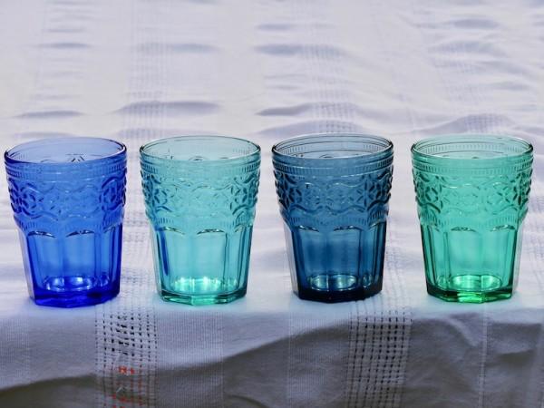 Blaugrüne Töne