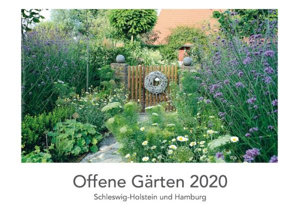 Kalender Offene Gärten 2020 Titelblatt