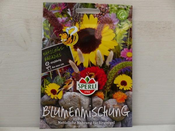 Blumenmischung Nahrung für Singvögel